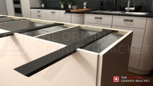 support granite breakfast bar