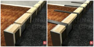 Hide Your Granite Supports And Spare Knees L Bracket