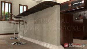Hidden Granite Supports